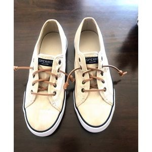 Sperry Sea Coast Ivory Top Siders